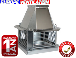 Europe ventilation for Tourelle extraction cuisine